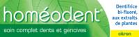 Boiron Homéodent Soin Complet Dents Et Gencives Pâte Dentifrice Citron 2t/75ml à NAVENNE