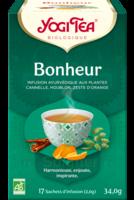 Yogi Tea Tisane Ayurvédique Bonheur Bio 17 Sachets/1,8g à NAVENNE