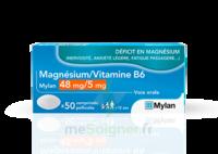 MAGNESIUM/VITAMINE B6 MYLAN 48 mg/5 mg, comprimé pelliculé à NAVENNE