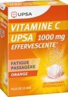 VITAMINE C UPSA EFFERVESCENTE 1000 mg, comprimé effervescent à NAVENNE