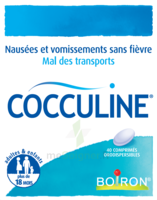 Boiron Cocculine Comprimés orodispersibles B/40 à NAVENNE